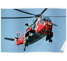 Westland Sea King HAR.5 XV647/CU-820 Poster