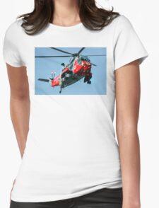 Westland Sea King HAR.5 XV647/CU-820 Womens Fitted T-Shirt