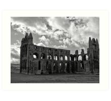 Whitby Abbey North Yorkshire Art Print