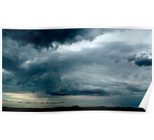 Stormy Afternoon on the way home Poster