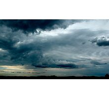 Stormy Afternoon on the way home Photographic Print
