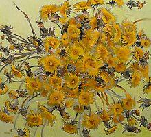 Dandelions by Vitali Komarov