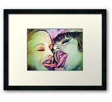 Lick It Framed Print