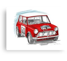 Red Cooper Canvas Print