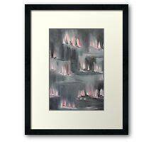 Pink Light Framed Print