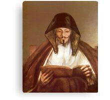 Anon Reading - Rembrandt Harmenszoon van Rijn, 1655 Canvas Print