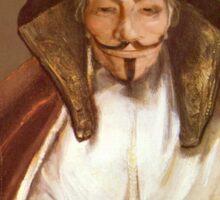 Anon Reading - Rembrandt Harmenszoon van Rijn, 1655 Sticker