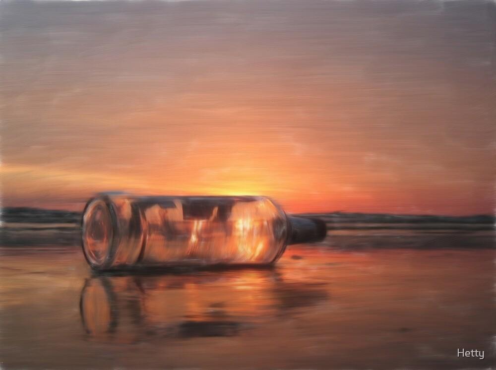 message in a bottle by Hetty