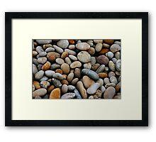 Pebbles Framed Print
