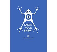 ingress : know your enemy Photographic Print
