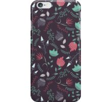 Fantasy flowers pattern iPhone Case/Skin
