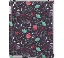 Fantasy flowers pattern iPad Case/Skin
