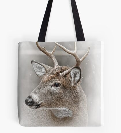 Whitetailed Deer Buck Tote Bag