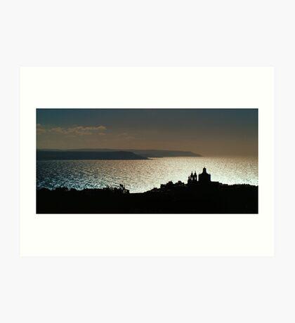 Across The Channel Art Print