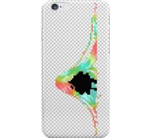 Pixelated Faceless Girl iPhone Case/Skin