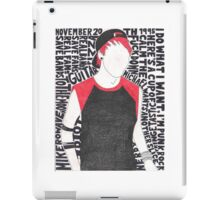 Michael Clifford Collage  iPad Case/Skin