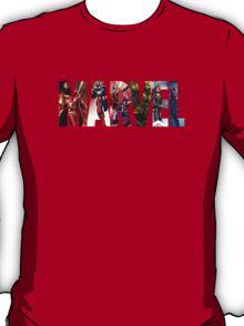 Marvel Hero Action Shot T-Shirt