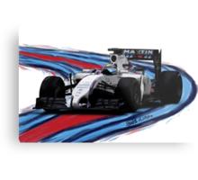 Williams Martini Racing Felipe19 Metal Print