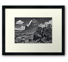 Organ Rock Framed Print