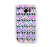 Alien Emoji Holographic Effect  Samsung Galaxy Case/Skin