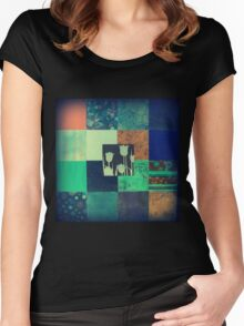 Paper Quilt 1.0 Women's Fitted Scoop T-Shirt
