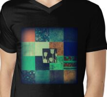 Paper Quilt 1.0 Mens V-Neck T-Shirt