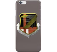 Yellow Squadron Insignia iPhone Case/Skin