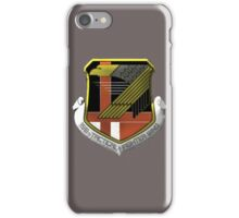 Yellow Squadron Insignia iPhone Case/Skin