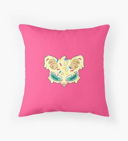 Vanilla with Sprinkles Throw Pillow