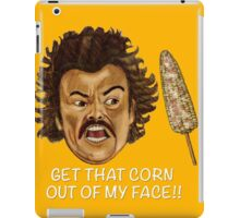 Get that Corn Out of My Face!! iPad Case/Skin