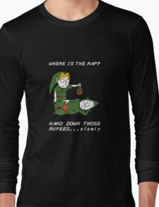 Where is the Map Tingle ? Long Sleeve T-Shirt