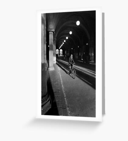 the tunnel Greeting Card