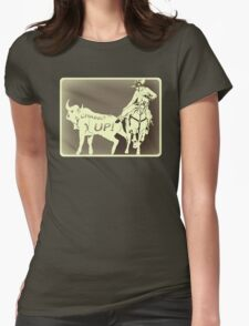 Charro Up Rusty Womens Fitted T-Shirt