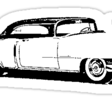 1954 Cadillac Coupe Sticker