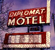 Diplomat Motel by Steven Godfrey