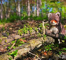Woodland creature in the forest by Iheartrecords