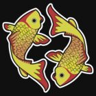 Two Koi Fish by jasdeepb