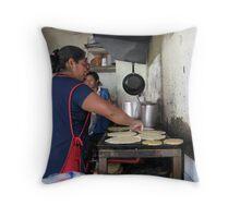 La Cocinera Throw Pillow