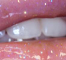 Glitter Sticker