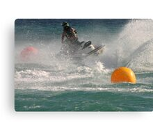 Super Charged Spray! Canvas Print