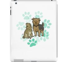 lacy and coco iPad Case/Skin