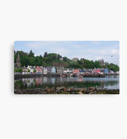 Beautiful Day in Tobermory Canvas Print