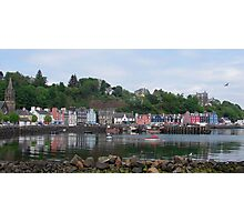 Beautiful Day in Tobermory Photographic Print