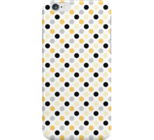 Yellow Black Dots iPhone Case/Skin