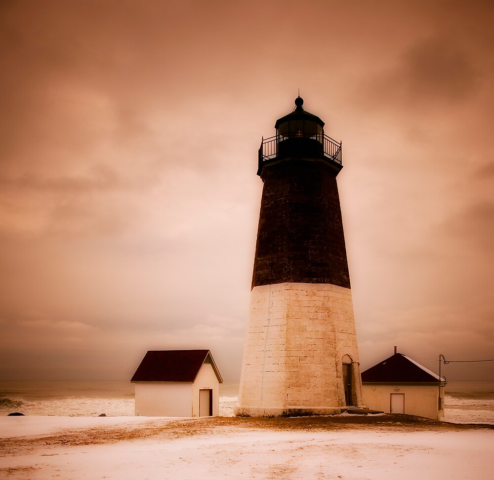 Point Judith Light by owensdp1277