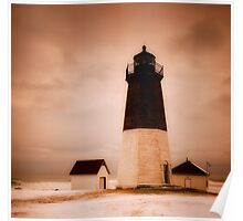 Point Judith Light Poster