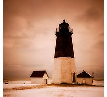 Point Judith Light Photographic Print