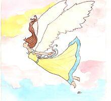 Falling Angel  by outlawedwings