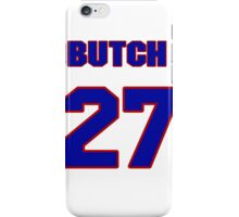 National baseball player Butch Henry jersey 27 iPhone Case/Skin