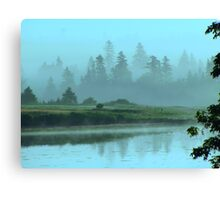 Turquoise Tranquillity Canvas Print